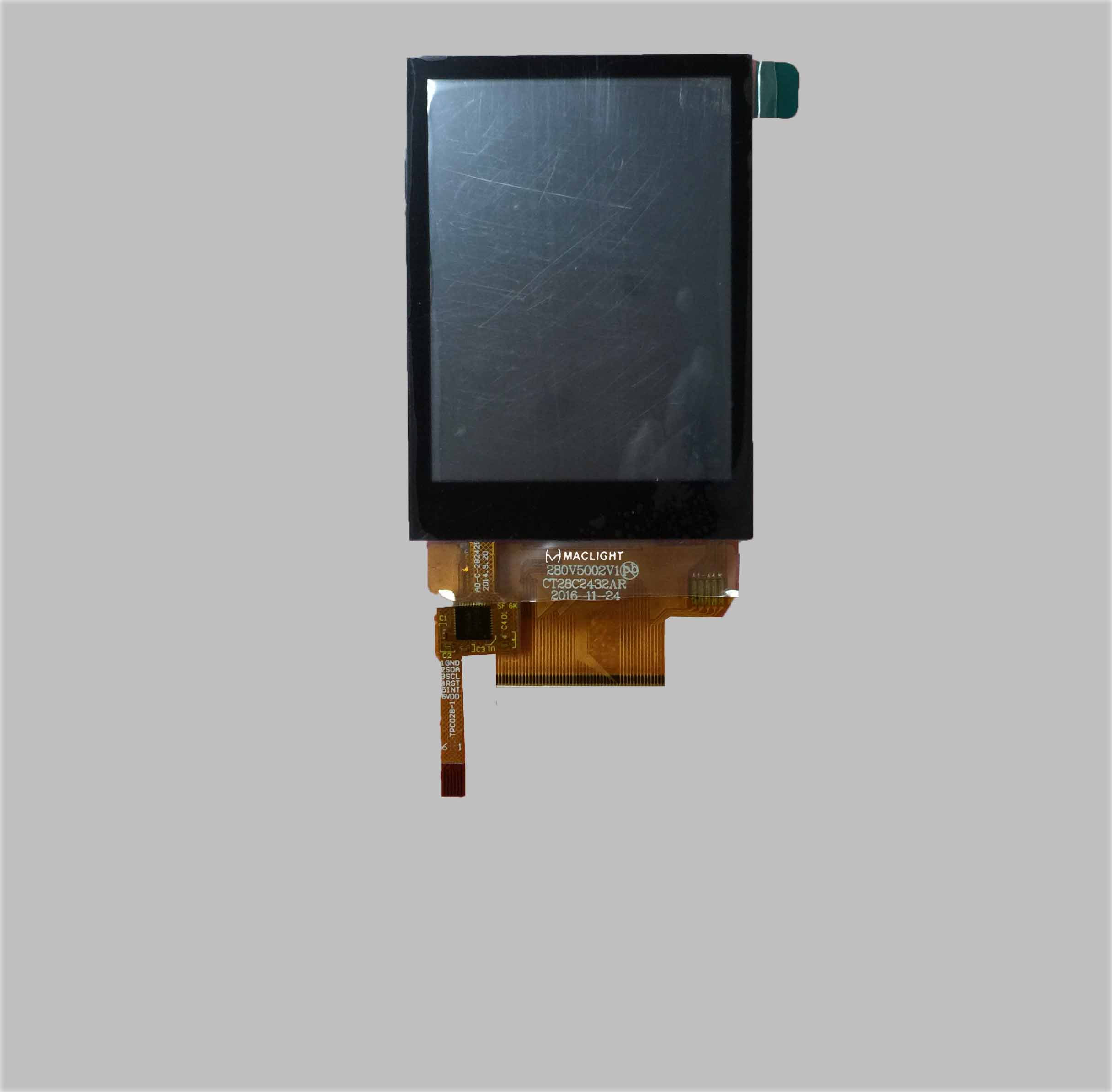 2.8 inch tft lcd module with CTP/PCT