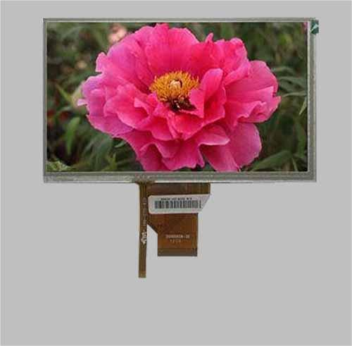 7 inch tft lcd resistive touch screen module 800x480 MLT070W50-T12
