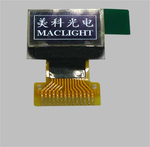 0.49 inch small oled display screen SSD1306 MLD049-6432A