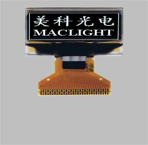 1.04 inch PM oled 128x32 pixels SSD1306 IIC/SPI interface MLD104-12832