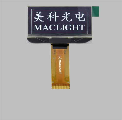 1.54 inch graphic oled display module 128x64 pixels ssd1309 MLD154-12864