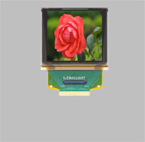 1.5 inch 128x128 pixels full color oled display module  ssd1351 MLD150-128128C