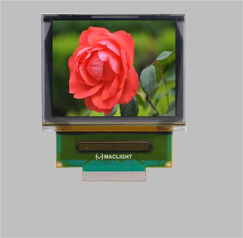 1.69 inch full color SPI oled display screen 160x128 dots oled  MLD169-160128C