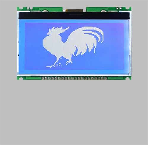 Customized made LCD with pcb