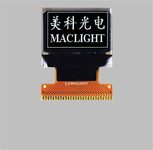 0.66 inch oled display module MLD066-6448B
