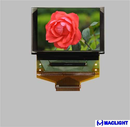 1.77 inch color oled display module 160x128 pixels MLD177-160128