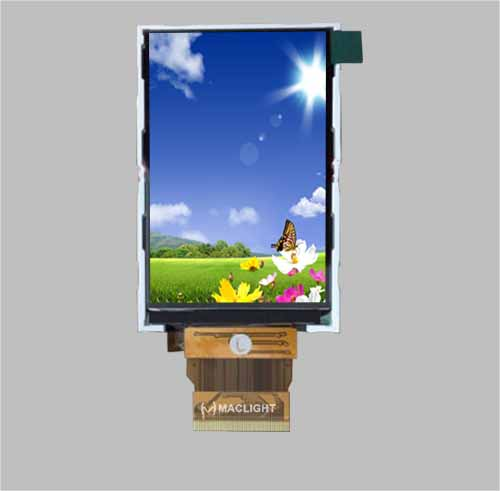 3.0 inch transflective tft lcd sunlight readable
