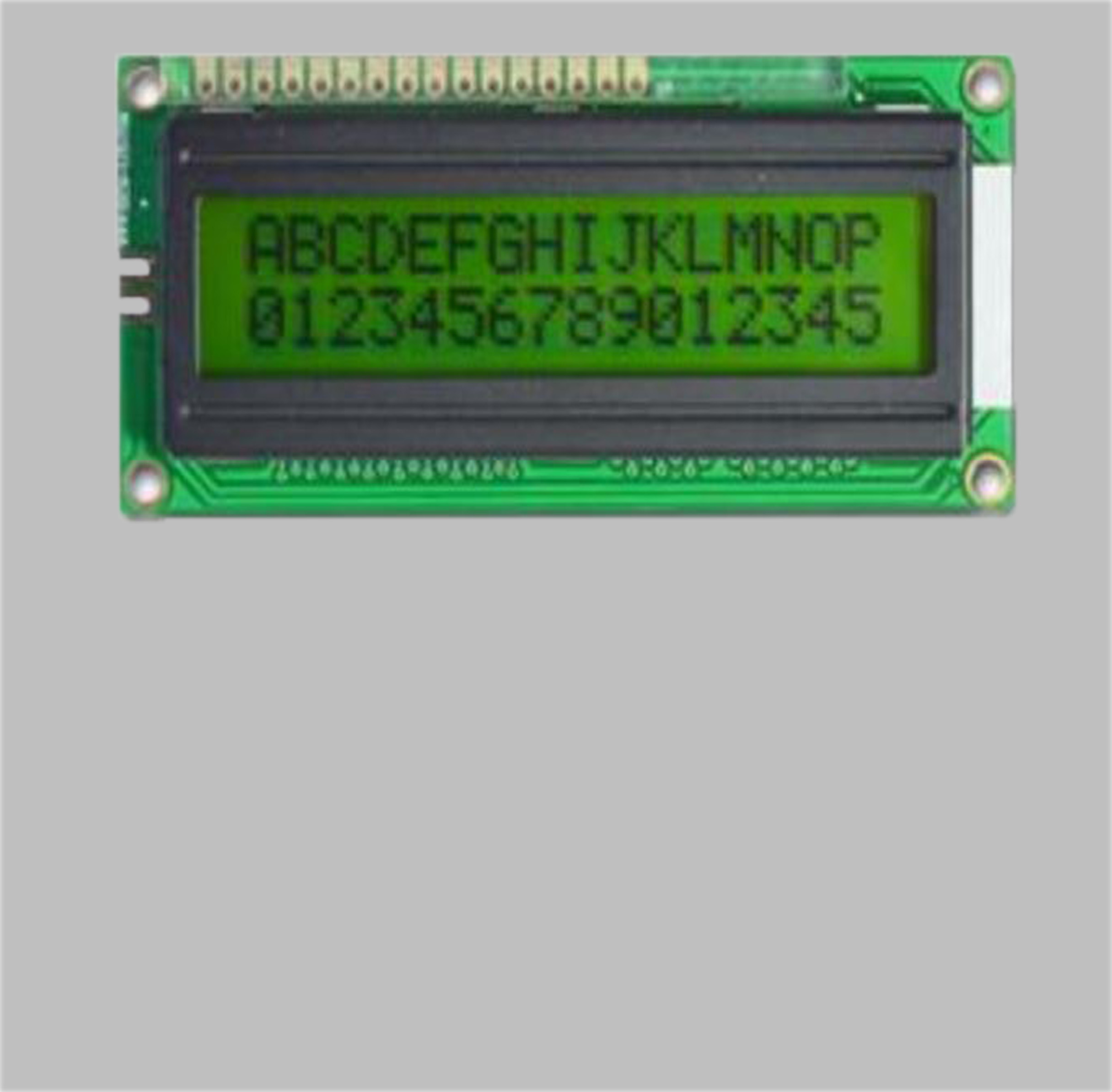 LCD Module display 16X2 characters