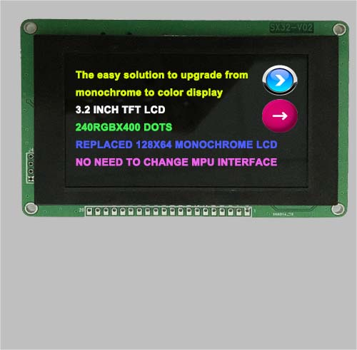 3.2 tft lcd display with STM32 controller
