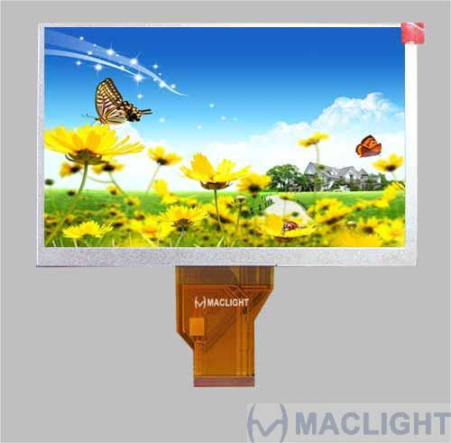 8.0 inch tft lcd module 800x480 interface RGB interface MLT080W50-1