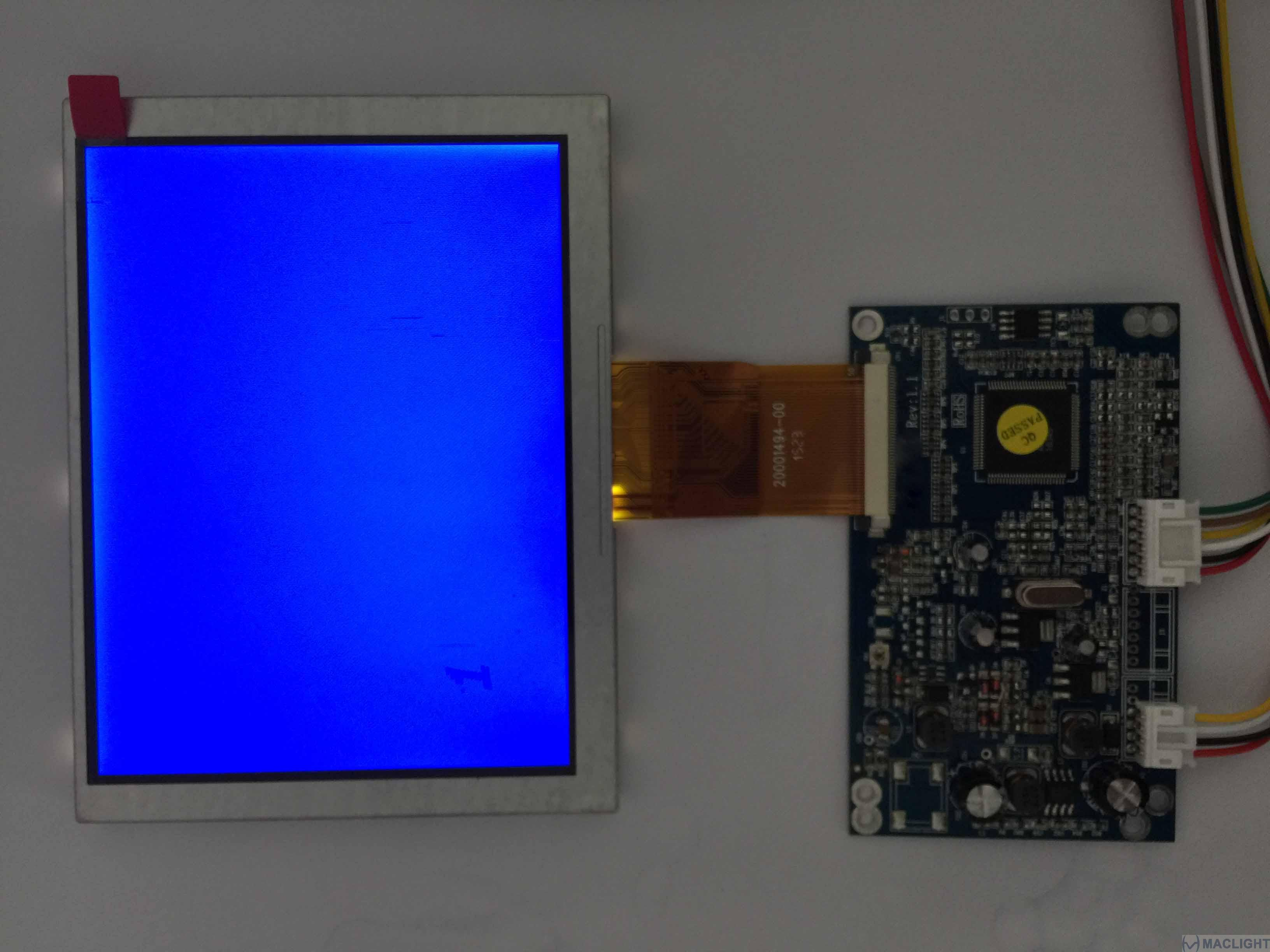 5 inch tft lcd complete display solution