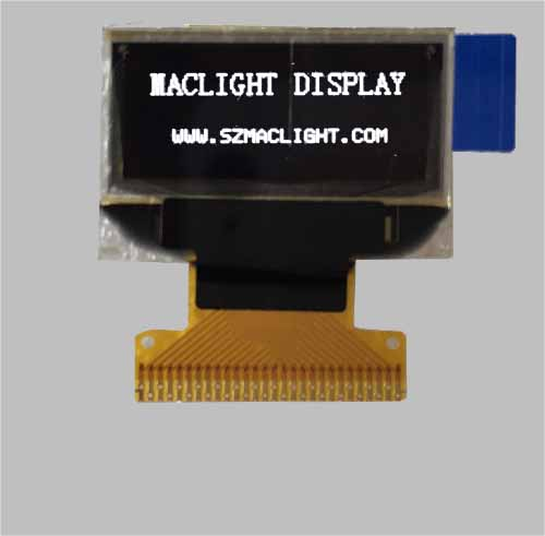 0.83 inch oled display 96x39 pixel SSD1306 white color MLD083-9639