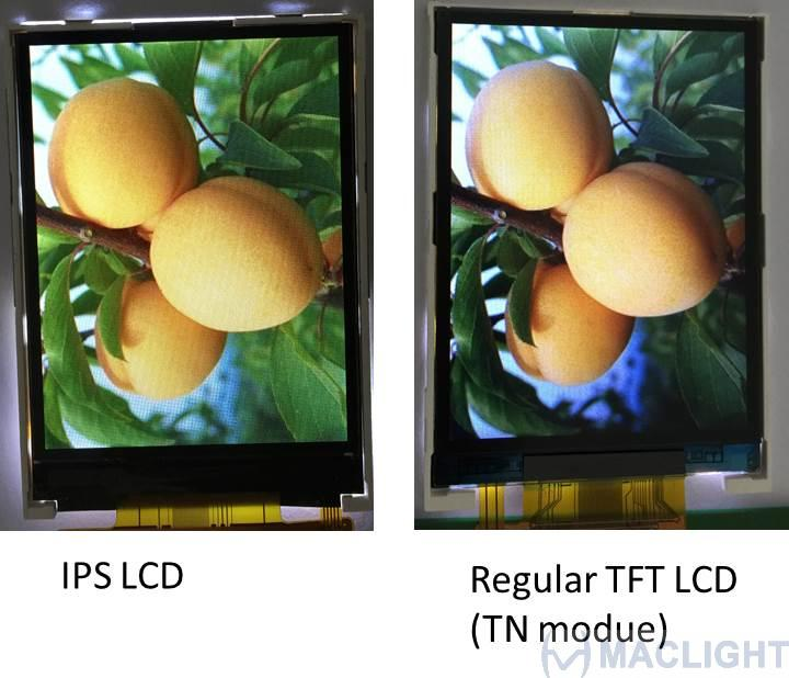 2.8 inch 320x240 tft lcd touch screen IPS lcd MLT028Q50-T15