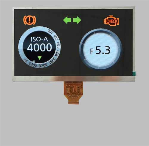 10.1 inch tft lcd display module 1024x600 dots LVDS interface MLT101X40-3