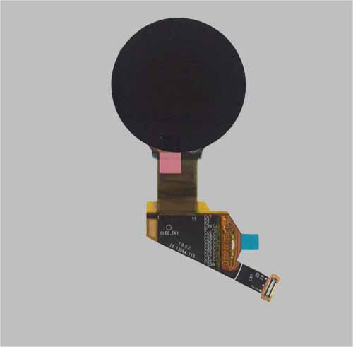 Round OLED display 1.3 inch MLD139-400400