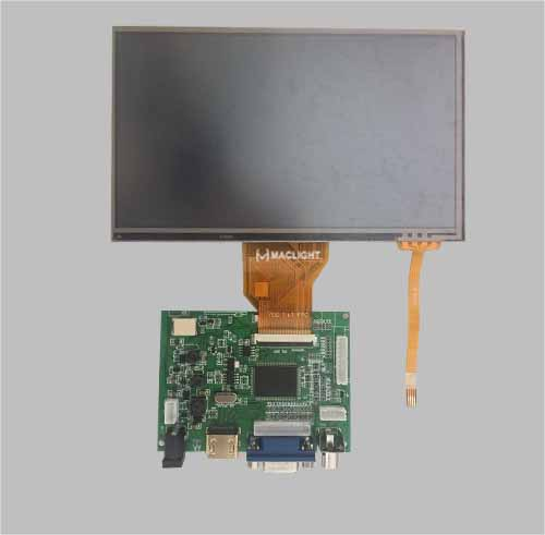 7 inch HDMI TFT lcd MLT070WH-2