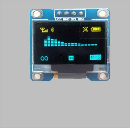0.96 inch oled display I2C interface 128x64 SSD1306 MLD096-12864C