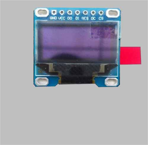 0.96 inch oled display module SPI I2C interface 7 pins with PCB MLD096-12864D