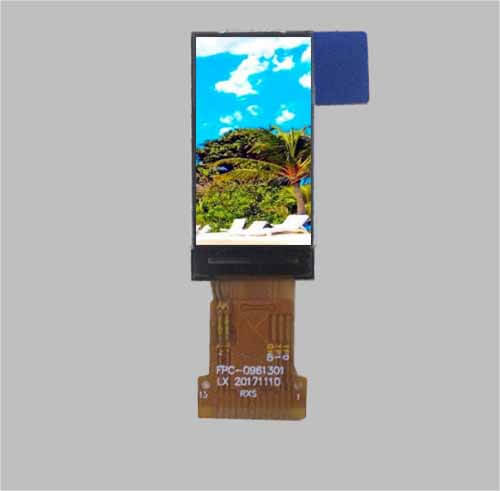 0.96 mini lcd screen ips tft display spi 80x160 pixel MLT009G13-05