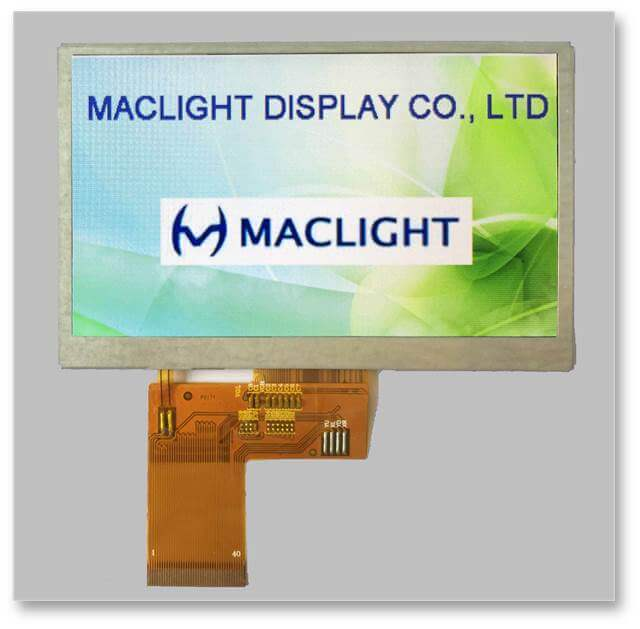 Sunlight readable tft lcd