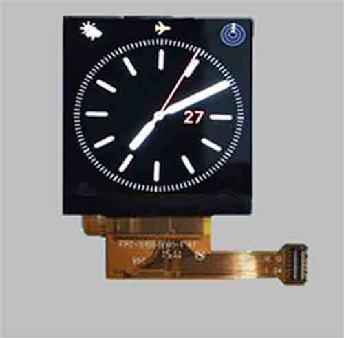 1.54 inch IPS square lcd display 240x240 MCU interface MLT015G24-1