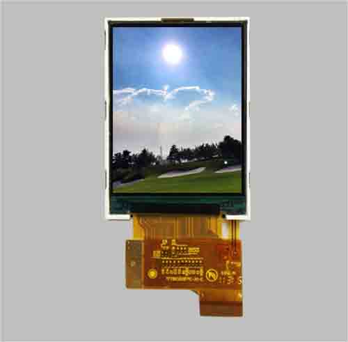 Transflective tft lcd 2.2 inch 240x320 RGB+SPI interface