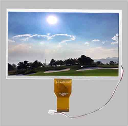 10.1 inch sunlight readable tft 1024x600 dots RGB interface MLT101X50-T25