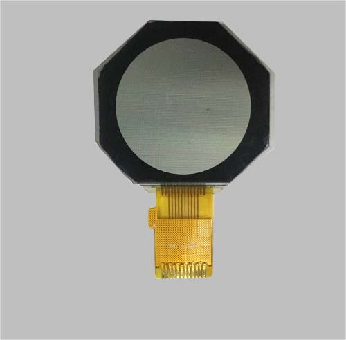 monochrome tft lcd Round lcd display 0.96 inch
