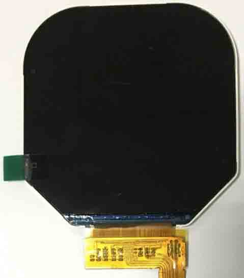 Round tft lcd display 2.47 inch newest