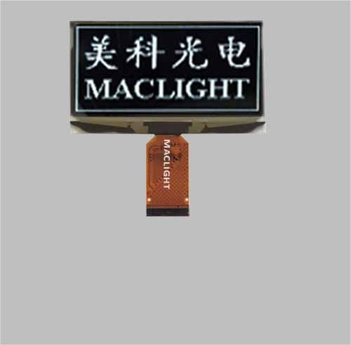 2.7 inch monochrome oled display 128x64 dots Parallel/SPI interface MLD270-12864B