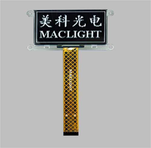 2.7 inch mono oled 128x64 graphic pled display SPI interface MLD270-12864C