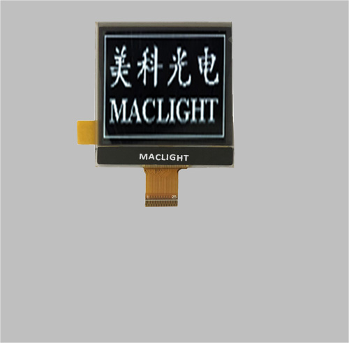 1.46 inch mono oled display 128x128 dots Parallel/SPI/I2C interface MLD146-128128A