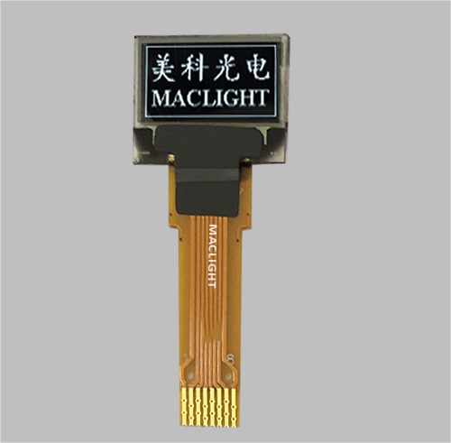 0.49 inch mono oled display 64x32 dots I2C interface MLD049-6432B