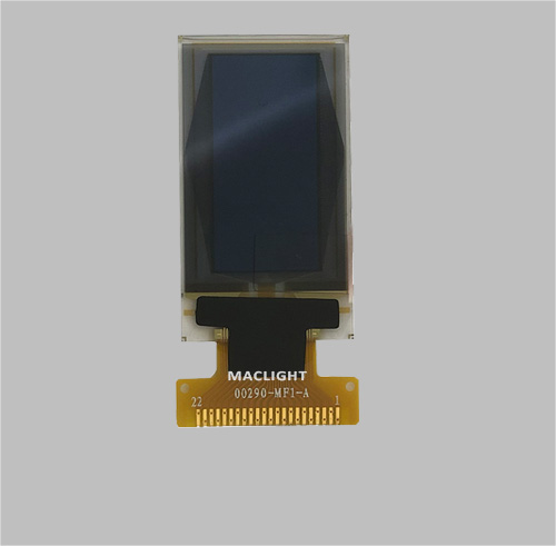 0.96 inch monochrome oled display 64x128 dots Parallel/SPI/I2C interface MLD096-64128A