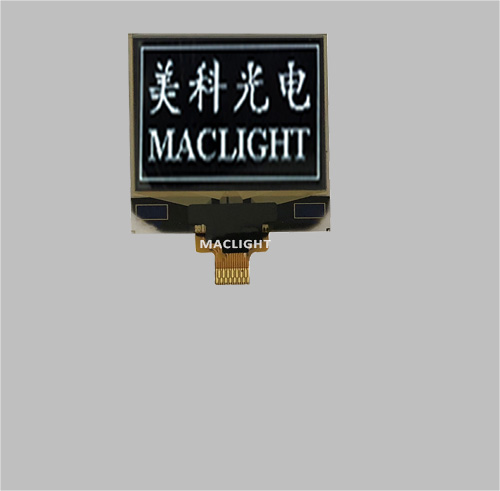 1.12 inch mono oled module display 96x96 dots SPI interface MLD110-9696A