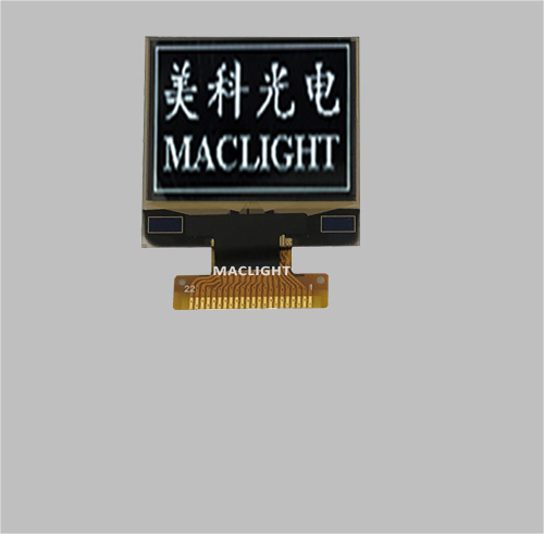 1.1 inch oled display module 96x96 dots Parallel/SPI/I2C interface MLD110-9696B