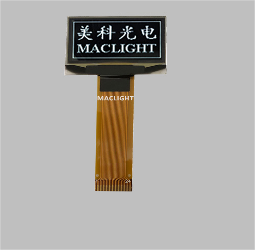 1.3 inch mono oled display module 128x64 dots Parallel/SPI/I2C interface MLD130-12864B