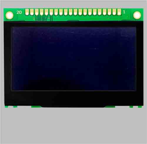 2.7 inch pm oled display 128x64 SPI interface