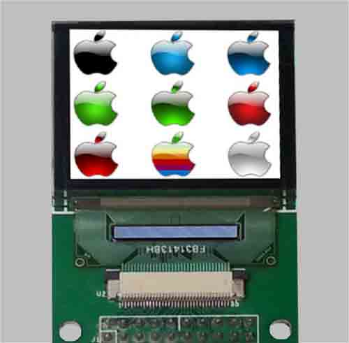 1.45 inch color oled display module 160x128 pixels with PCB