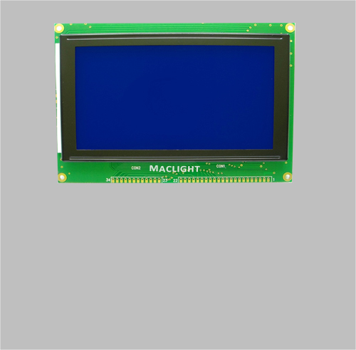 Lcm display 240x128 graphic COB module MLG240128Y-1B