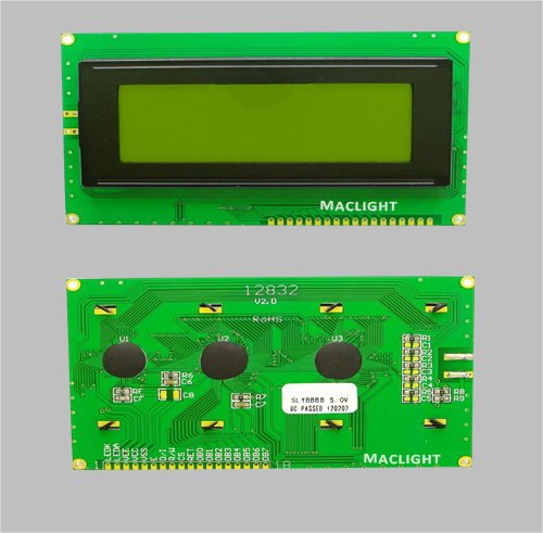 Monochrome 128x32 graphic lcd display module MLG12832Y-1