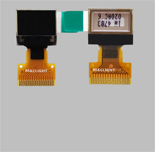 0.42 inch monochrome oled display module SSD1306 MLD042-7240A