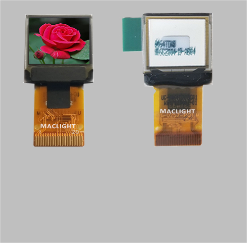 0.6 inch color oled display module 64x64 dots SSD1357Z MLD060-6464C