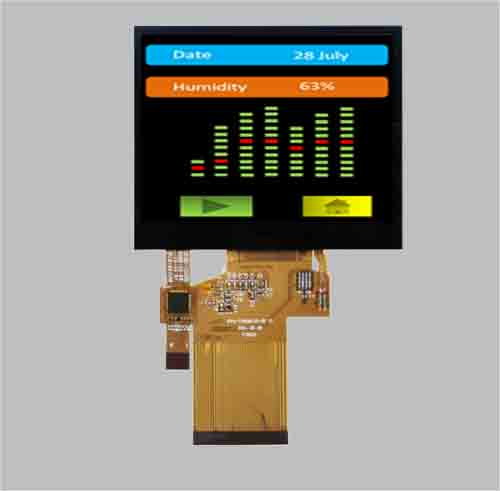 3.5 inch tft lcd module with CTP/PCT