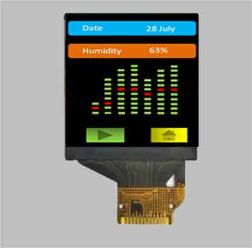 1.33 inch small tft display module