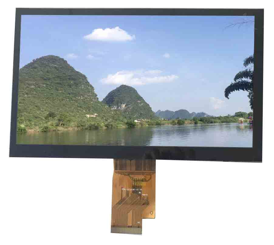 sunlight readable tft lcd display <a href=https://www.szmaclight.com/7-0-inch-tft-lcd-module-display.html target='_blank'>7 inch</a>