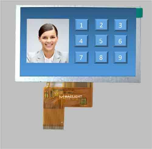 5 IPS LCD module