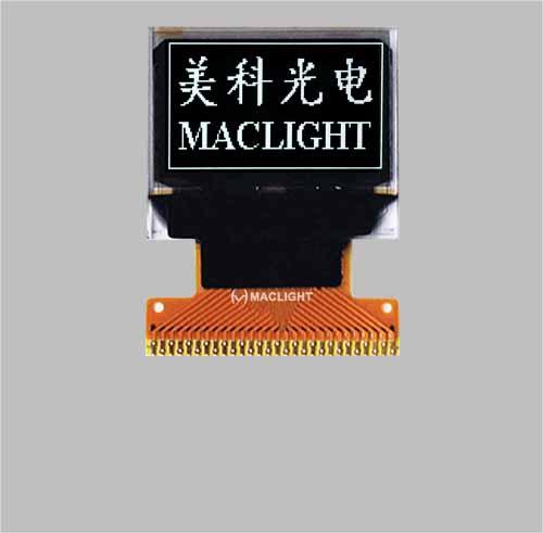 0.66 inch oled display module