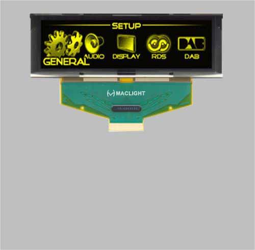 3.12 inch oled display module