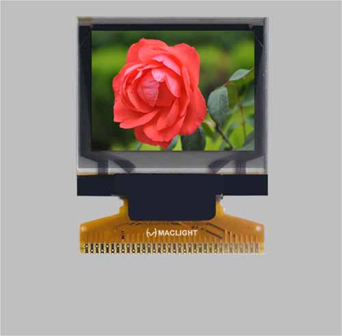 1.1 inch color oled display module